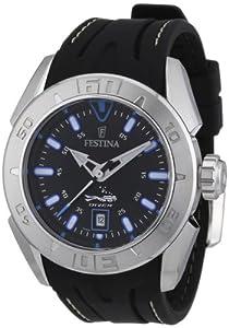 Reloj Festina F16505/A de cuarzo para hombre con correa de caucho, color negro de Festina