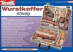 Postkarte A6 +++ TITANIC von modern times +++ WURSTKOFFER 199906 +++ ARTCONCEPT TITANIC, Schmitt, Hintner/Werner