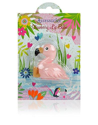 accessorize-damen-flamingo-erdbeer-lippenbalsam-einheitsgrosse