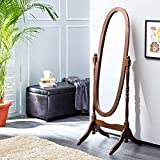 Home Centre Cheval Standing Mirror (Rich Brown) (20 * 20 * 60 Inches)