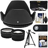 Essentials Bundle For Nikon D3400 DSLR Camera With 18-55mm VR AF-P Lens With 3 UV/CPL/ND8 Filters + Hood + Tripod + ML-L3 Remote + Tele/Wide Lens Kit