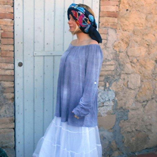 Coklico - Tunique grande taille Tie Dye - 44 46 480 - M. Love - Sans accessoires Gris