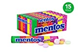 Mentos Rolls, Rainbow, 1.32 Ounce (Pack of 15)