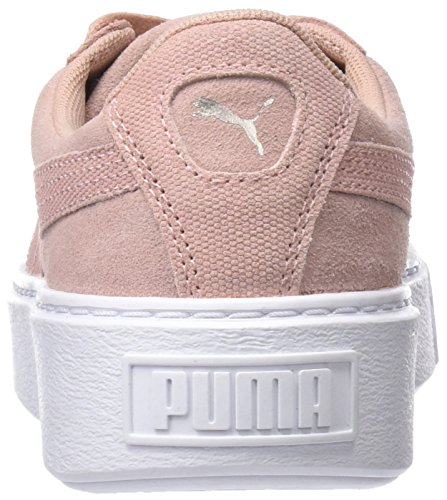 82f47aefe94f Puma Women s Suede Platform Pebble WN s Low-Top Sneakers