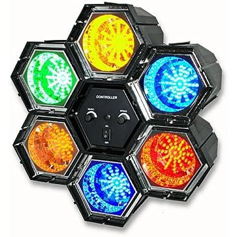 6-suono luci Psichedeliche con 282 happygo luce a LED a