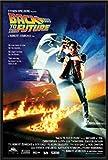 Back To The Future Michael J. Fox Christoph Filmposter Zurück in die Zukunft - Grösse 61x91,5 cm + Wechselrahmen, Shinsuke® Maxi Kunststoff schwarz, Acryl-Scheibe