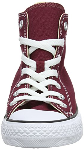 Converse Unisex-adult Chuck Taylor All Star Hi-top Trainers, Red (Maroon), 10 Uk (44 Eu)