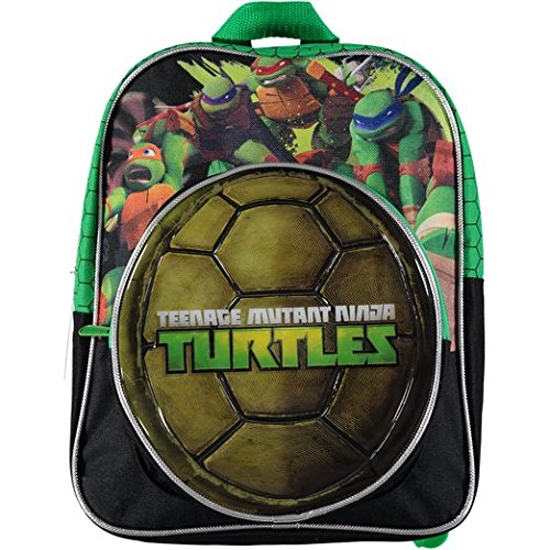 Nickelodeon Teenage Ninja Turtles Boys Shell Backpack Toddler School Bag by Nickelodeon (Ninja Turtles Shell Backpack)