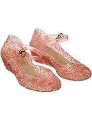 Katara - Zapatos para disfraz de princesa color Rosa, EU . 30 (tamaño del fabricante 32)
