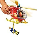 Feuerwehrmann Sam - Bergwacht Hubschrauber Helikopter mit Tom Licht & Sound Test