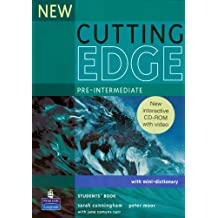 New Cutting Edge Pre-Intermediate Students (Book & CD ROM)