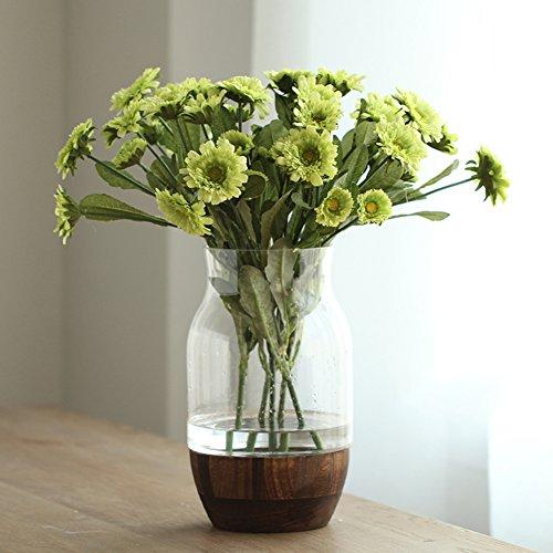 European Transparent Creative Glass Vase/home Decoration/table Flower Flower Decoration-g