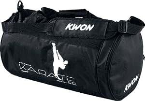 Kwon 5016003 Sac de sport spécial karaté, Noir, 48 x 24 cm