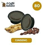 80 Kaffeekapselmaschine Ginseng verwendbar für alle A Modo Mio Maschinen - 80 A modo mio kompatible kaffeekapseln - 80 kaffee kapseln A Modo mio - Il Caffè Italiano