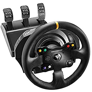 Thrustmaster TX Racing Wheel Leather Edition – Force-Feedback-Rennsimulator für Xbox One und PC – Funktioniert mit Xbox…