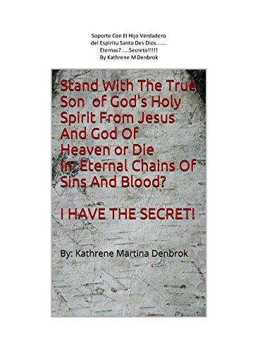 Soporte con hel hijo verdadero del espiritu santo des dios des jesus y dios de. por Kathrene Denbrok