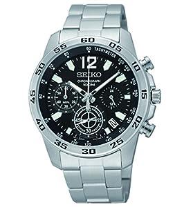Reloj Seiko Neo Sports Ssb125p1 Hombre Negro de GENERAL DE RELOJERIA GERESA SE
