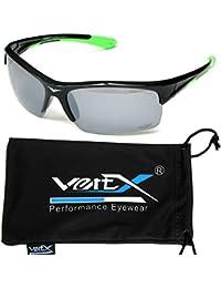 VertX varonil polarizado gafas de sol doble inyección Marcos deporte ... 49f421de35