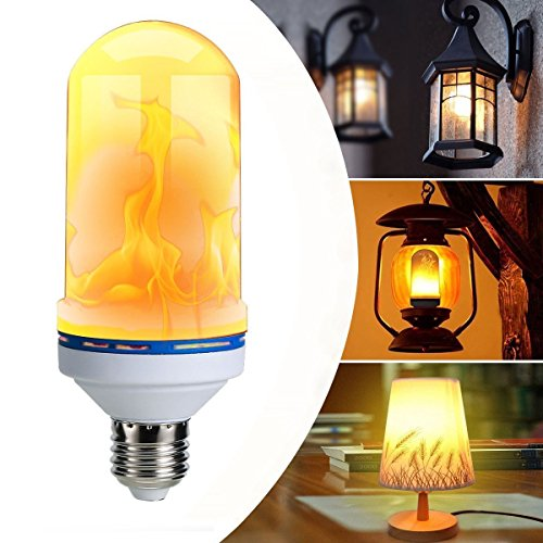 Paridhi Collections LED Flickering Flame Light Bulbs