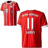 adidas FC Bayern München FCB Herren Home Trikot 2017 2018 James Rodriguez 11 Gr XXL