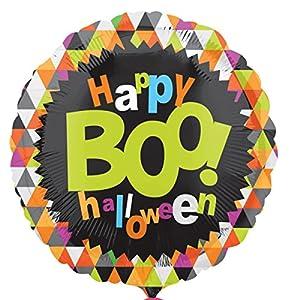 Amscan International 3136501 Boo Halloween - Globos de Papel de Aluminio (estándar)