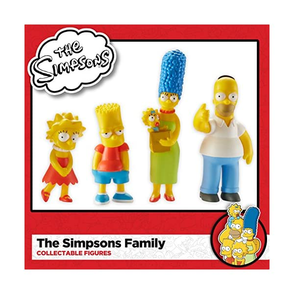 Los Simpsons Familia - Figuras 4p Pack - Homer, Marge, Bart y Lisa [DVD] 2