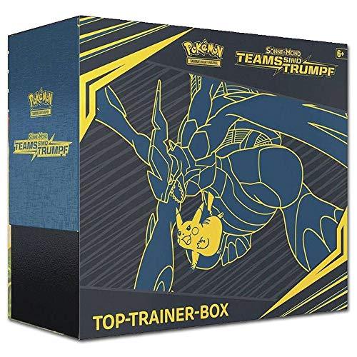 Pokemon - Teams sind Trumpf - Top-Trainer Box | DEUTSCH | Sammelkartenspiel TCG -