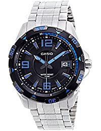CASIO Collection MTD-1065D-1AVEF - Reloj de cuarzo con correa de acero inoxidable