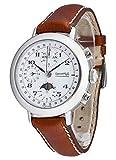 Eberhard & Co 31039.1 CP Replica Calendrier Complet - Reloj de Pulsera para Hombre (cronógrafo, Calendario Completo, Fase Lunar, analógico, automático)