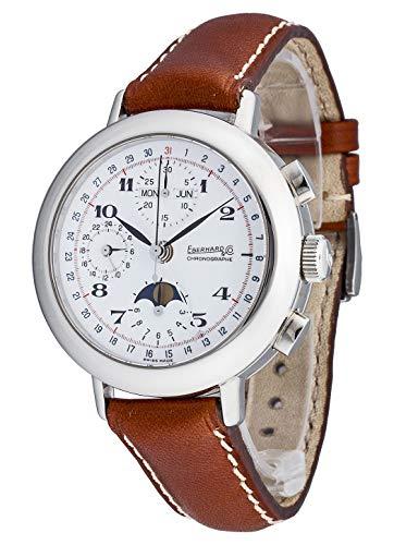 Eberhard & Co Replica Calendrier Complet 31039.1 CP - Orologio da polso da uomo, cronografo, calendario completo, fase lunare, analogico, automatico