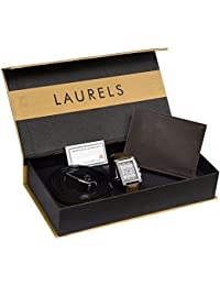 Laurels Analogue Silver Dial Men's Watch - Imp-201-Fos-02