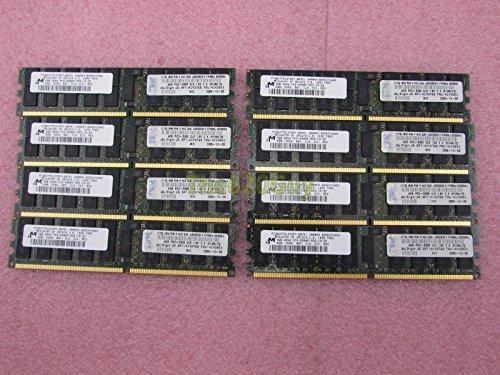 Ecc Cl5 Kit (IBM 32GB 8x 4GB PC2-5300P DDR2667CL5Reg ECC Server Memory Kit 41Y2851Micron)