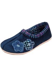 COSERO Damen Hausschuhe Badeschuhe (286B) Badelatschen Pantoffel Pantoletten Schuhe Neu Größe 40, Farbe Khaki