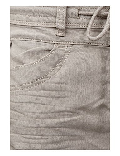 Street One Damen Slim Jeans Beige (Sportive Moonly Sand Wash 11315)