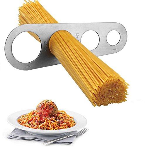 dingsheng Nudeln Menge Maßnahme Spaghettimaß aus Edelstahl Messen Pasta portioskontrolle Küche Werkzeug