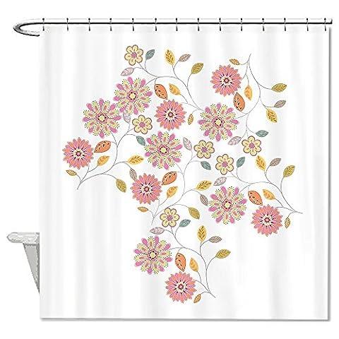 Timothy Wood - warrantyll Fleurs Timothy Polyester Imperméable rideau de