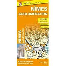 Plan de Nîmes et de son agglomération (échelle : 1/12 000)