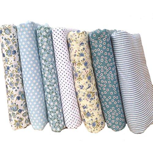 souarts-7-stuck-stoffpakete-diy-baumwolltuch-patchwork-stoffe-paket-25cmx25cm-hellblau