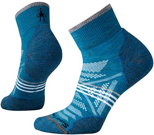 Smartwool Damen Socken PhD Outdoor Light Mini (Glacial Blue, M) -
