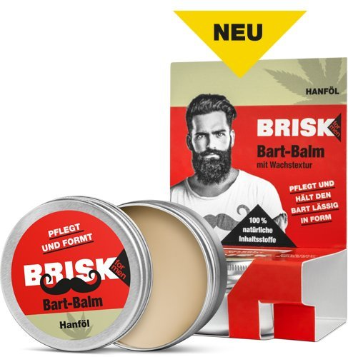BRISK Bart Balm 40 g Bart-Balm mit Wachs-Textur