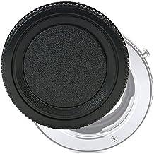 Objektivdeckel Rückseite für Fuji Fujinon XF 14mm f/2.8 R, XF 16-55mm f:2.8 R LM WR, XF 18mm F2, XF 23mm F1.4, XF 35mm F1.4, XF 56mm F1.2 (RLCP-001 - Fuji X-Mount), Bajonettverschluss