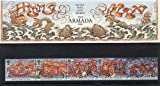 1988 THE ARMADA STAMPS Presentation Pack. by Royal Mail