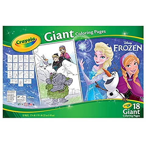 Libro di Crayola gigante Disney da colorare 12,75