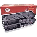 Toner Kingdom 2 Pack Compatible Samsung MLT-D111S Negro Laser cartucho de tóner For Samsung Xpress SL-M2020W SL-M2020 SL-M2022 SL-M2022W SL-M2026 SL-M2026W SL-M2070 SL-M2070W SL-M2070FW impresora