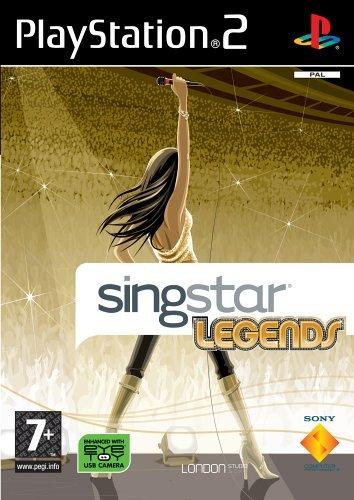 Singstar Legends (Sony Dvds Player Tragbar)