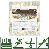 Beautissu Anti Slip Rug Underlay BeauFix - Multi-Purpose Non-Slip Mat 80 x 200 cm Size Adjustable Carpet Foam Gripper