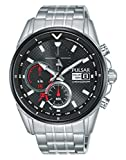 PULSAR Herren Analog Quarz Uhr mit Edelstahl Armband PZ6027X1