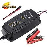 Vollautomatisches Batterieladegerät12V 2/4/8Amp Batterie Lade und Testgerät. Lood zuur batterijlader Optimale Ladung,Unterhaltungsladung und Instandsetzung von Auto-und Motorradbatterien