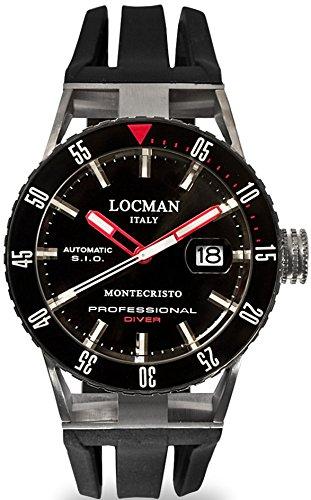 Locman montre homme automatique Montechristo P 051300KRBKNKSIK