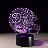 1 paket, 3d led usb tischlampe touch 7 farben illusion lampara schreibtischlampen für kinder fans nacht lampe